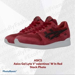 ASICS Tiger Gel Lyte V 'valentines' Womens In Red